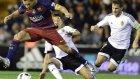 Barcelona 1-1  Valencia (10 Şubat Çarşamba Maç Özeti)
