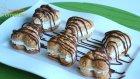 Kremalı Kalpli Milföycükler / Yemek Tarifleri