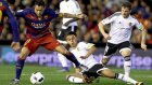 Valencia 1-1 Barcelona - Maç Özeti (10.02.2016)