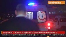 Zonguldak - Maden Ocağında Gaz Zehirlenmesi Nedeniyle 2 Madenci Öldü