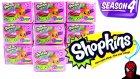 Cicibiciler 4. Sezon 10 Sürpriz Oyuncak Paketi Açma Shopkins Challenge