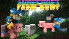 İzlesene.com Ofisi & Youtuberlarla Tanıştım! (Minecraft : Hayvan Saklambacı - Türkçe Farm Hunt)