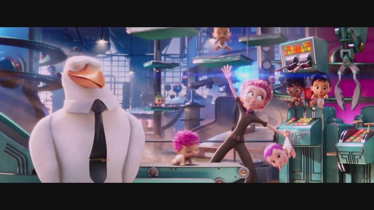 Leylekler Storks - Türkçe Dublajlı Fragman