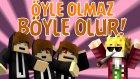 ÖYLE OLMAZ BÖYLE OLUR !! - İbrahim Güneş Minecraft Thug Life w/Gereksiz Oda