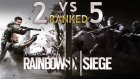 2vs5 Dereceli Maç  !  | Rainbow Six Siege 2vs5 Ranked (W/fedupsamania) - eastergamerstv