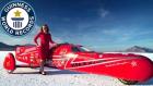 3 Tekerlek Üzerinde Dünya Rekoru! (Eva Hakansson - 387.32 km/s)