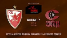 Kızılyıldız 94-74 Cedevita Zagreb (11 Şubat Perşembe Maç Özeti)