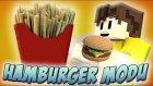 Hamburger Yapıyoruz! - Minecraft Hamburger Modu (Patates Kızartması) - Minecraft 1.8.9 Mod Tanıtımı
