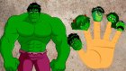 The Hulk Finger Family Songs