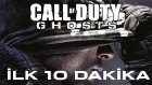 Call of Duty Ghosts - İlk 10 Dakika / First 10 Minutes