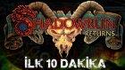 Shadowrun Returns - İlk 10 Dakika / First 10 Minutes (HD)