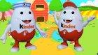 2 Farklı Dev Kinder Sürpriz Yumurta - Evcilik  Tv
