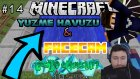 YÜZME HAVUZU & FACECAM - LEGENDS in MİNECRAFT - Bölüm 14