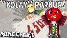Dünyanın En Kolay Fakat En Zor Parkuru !! - Minecraft Easy Parkour - Minecraft Kolay Parkur