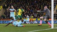 Emenike Kaderi Çizdi Öyle Bir Gol Kaçırdı ki (Norwich City 2-2 West Ham 13 Şubat Cumartesi)