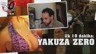 Japonca Oyun Oynamak! // Yakuza Zero - İlk 10 Dakika
