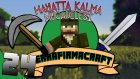 Minecraft - Terrafirmacraft - 24 - Oduncu Kulubesi Ve Su Kesesi