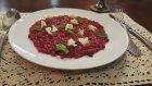 Pancarlı ve keci peynirli risotto tarifi