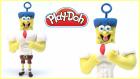 Spongebob Squarepants Play Doh | Oyun Hamuru İle Sünger Bob Yapımı