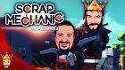 Traktör Uçtu | Scrap Mechanic Türkçe Multiplayer | Bölüm 5