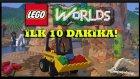 MINECRAFT 'A RAKİP GELDİ - LEGO Worlds İlk 10 Dakika