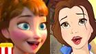 Disney Prensesleri Şarkılarını Kendi Dillerinde Söylüyor - Bölüm 2