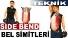 Dumbbell Side Bend (Beldeki Simitler) Adonis Kası