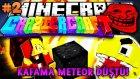 Türkçe Minecraft | Craziest Craft | KAFAMA METEOR DÜŞTÜ! ve PACMAN EŞŞEK ŞAKASI! - Bölüm 2
