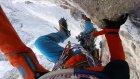 6900 Metreye Tırmanan Dağcının Adrenalin Dolu Anları