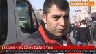 Erzurum 'da  Buz Kütlesi Düştü: 2 Yaralı