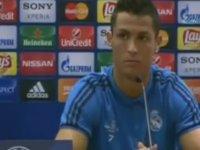 Cristiano Ronaldo'nun Sinirlenip Basın Toplantısını Terk Etmesi