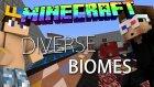 Minecraft | Dıverse Bıomes | Bölüm 1 | ft. AhmetAga