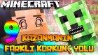 Minecraft'ta KAZANMANIN 9 FARKLI KORKUNÇ YOLU! (Özel Harita)