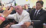 Papa Francis'in Çileden Çıkması