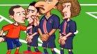 Psg - Chelsea Maçı Animasyon Oldu