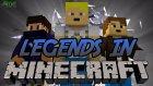 Değişik Maden! - Legends İn Minecraft - Bölüm 2 W/azizgaming