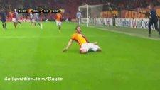 Galatasaray 1-0 Lazio Gol: Sabri Sarıoğlu (18 Şubat Perşembe 2016)