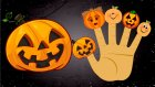 Halloween Pumkin Carving Finger Family Songs