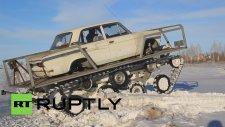 Hurda Araçtan Tank Yapmak - Rusya
