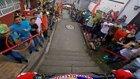 Kolombiya Sokaklarının Altını Üstüne Getiren Dağ Bisikletçisi