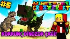 Türkçe Minecraft   Craziest Craft   KORKUNÇ DİNOZOR ÇAĞI! - Bölüm 5