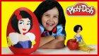 Dev Sürpriz Yumurta Pamuk Prenses Oyun Hamuru Play Doh Evciliktv