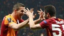 Galatasaray 1-1 Lazio (18 Şubat Perşembe Maç Özeti)