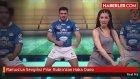 Ramos'un Sevgilisi Pilar Rubio'dan Haka Dansı