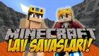 2 Vs 2 | Minecraft | Lav Savaşları - 2 | Bölüm-7 | Ft. İbrahim Güneş,hyperfox - Wolvoroth