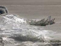 Buz Parçalarının Göl Üzerindeki Hareketi
