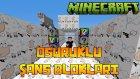 BLOK OSURUYOR! - Minecraft OSURUKLU ŞANS BLOKLARI!