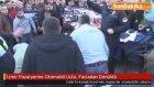 İzmir Pazaryerine Otomobil Uçtu, Faciadan Dönüldü