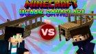 Minecraft : Uçak Savaşları - Azizgaming Vs Oyunkonsolu