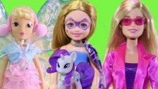 Winx Stella Diş Perisi Ve Ajan Barbie Görev Başında - Evcilik Tv Evcilik Oyunları